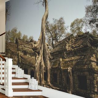 Zelfklevend fotobehang op maat - Cambodja