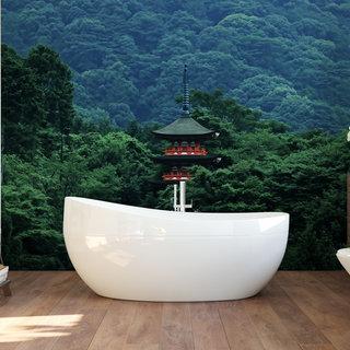Self-adhesive photo wallpaper custom size - Pagoda