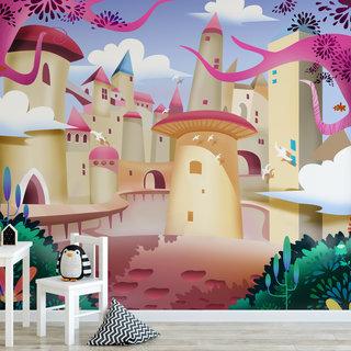 Self-adhesive photo wallpaper custom size - Children's jungle 2