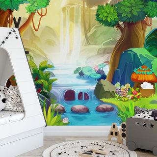 Self-adhesive photo wallpaper custom size - Children's jungle 3