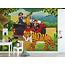Walldesign56 Zelfklevend fotobehang op maat - Kinder jungle 4