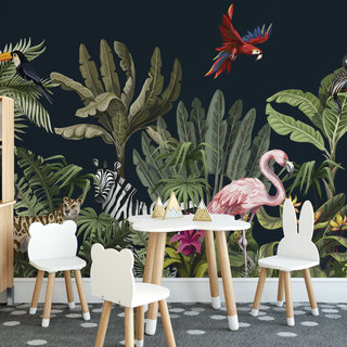 Self-adhesive photo wallpaper custom size - Children's jungle 5