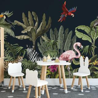 Zelfklevend fotobehang op maat - Kinder jungle 5