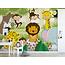 Walldesign56 Self-adhesive photo wallpaper custom size - Children's jungle 6