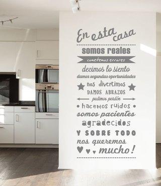 Wall Sticker en esta casa - 2