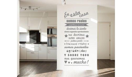 Wall Sticker - En esta casa - 2