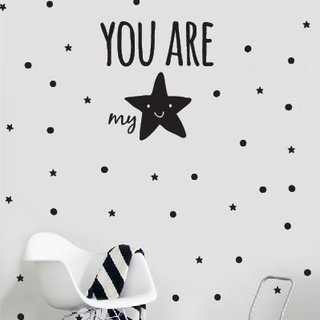 Muursticker - You are my star