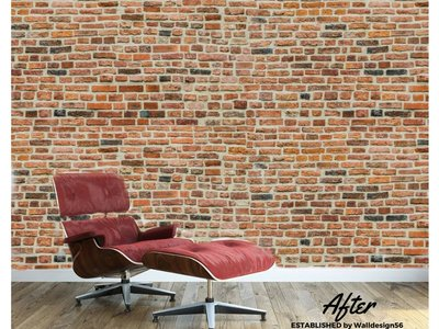 Photo Wall stones - medieval Brick Design