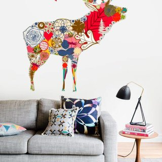 Wall Sticker - Deer Vintage