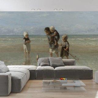 Zelfklevend fotobehang op maat - Kinderen der zee - Jozef Israëls