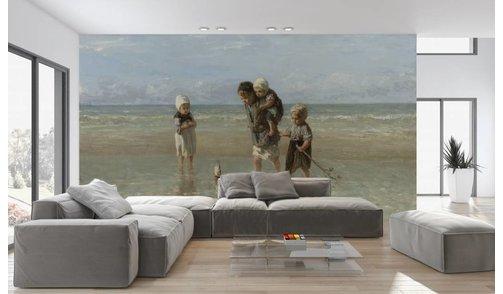Self-adhesive photo wallpaper custom size - Children of the sea - Jozef Israëls