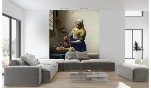 Mural The Milkmaid