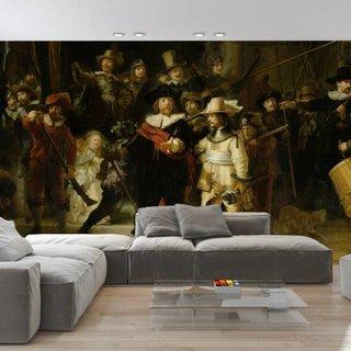 Selbstklebende Fototapete angepasst - Die Nachtwache - Rembrandt van Rijn
