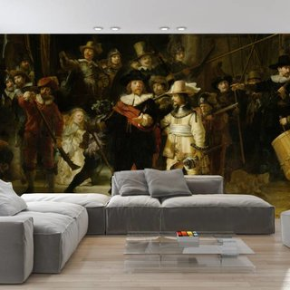 Selbstklebende Fototapete - Die Nachtwache - Rembrandt van Rijn