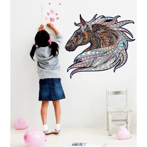Wall Sticker Horse Vintage Design
