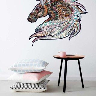Wandaufkleber - Pferde Vintage Design