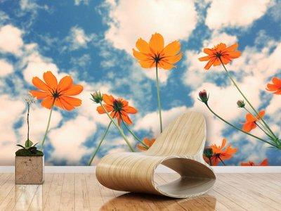 Mural Kosmos-Blume