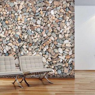 Zelfklevend fotobehang op maat  Stenen - Kiezelstenen