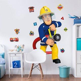 Muursticker - Brandweerman Sam