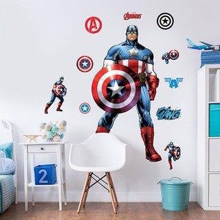 Wandaufkleber - Captain America