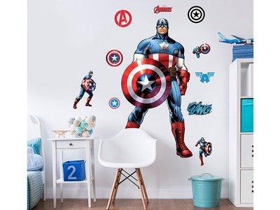 Wandaufkleber Captain America