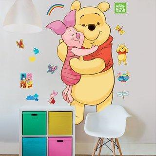 Muursticker - Disney Winnie the Pooh