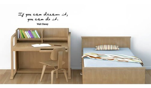 Wall Sticker - If you can dream it, you can do it