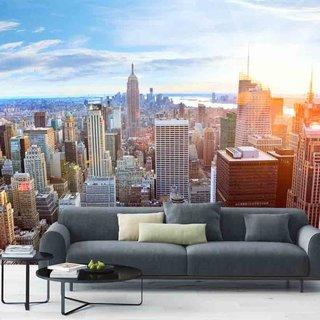Self-adhesive photo wallpaper custom size -  Manhattan Skyline - New York