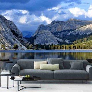 Selbstklebende Fototapete angepasst - Natur Landschaft