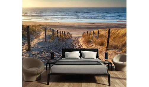 Self-adhesive photo wallpaper custom size - Beach