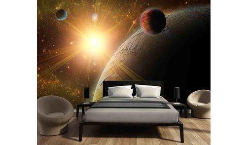 Selbstklebende Fototapete angepasst - Universum