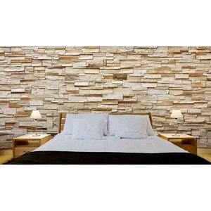 Mural Stones Riverside Stone Beige