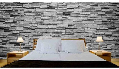 Self-adhesive photo wallpaper custom size -  Stones Riverside Stone Grey