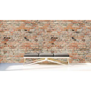 Mural Stone Brick Wall 3