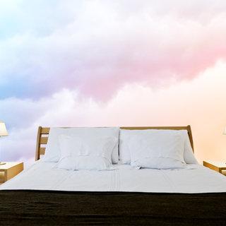 Selbstklebende Fototapete angepasst - Wolken 1
