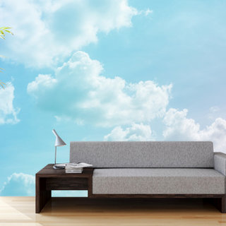 Self-adhesive photo wallpaper custom size - Clouds 2