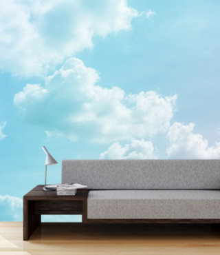 Fotobehang Wolken 2