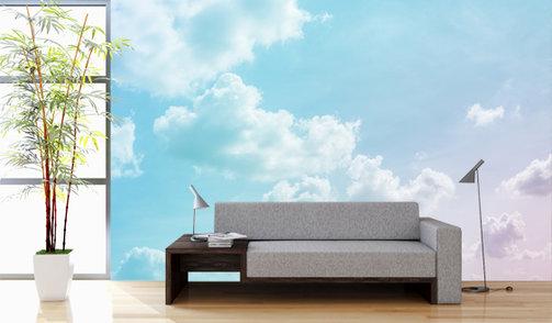 Self-adhesive photo wallpaper custom size - Clouds 2