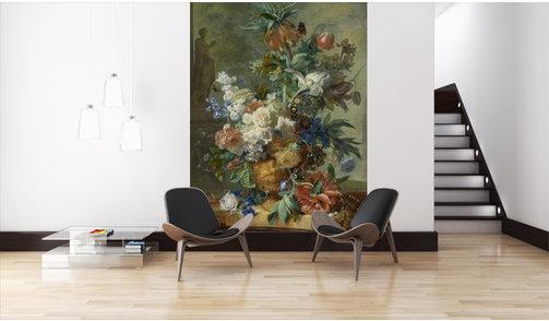 Self-adhesive photo wallpaper custom size - Still Life with Flowers - Jan van Huysum