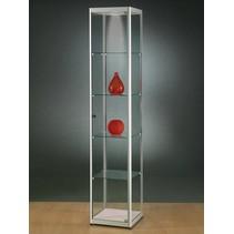 Glazen Wand Vitrinekast.Glazenvitrinekast Een Glazen Vitrinekast Trekt Niet Zelf De