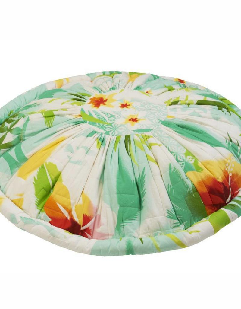 Pacific flower pouf