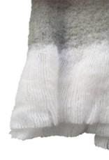 Light grey mohair throw