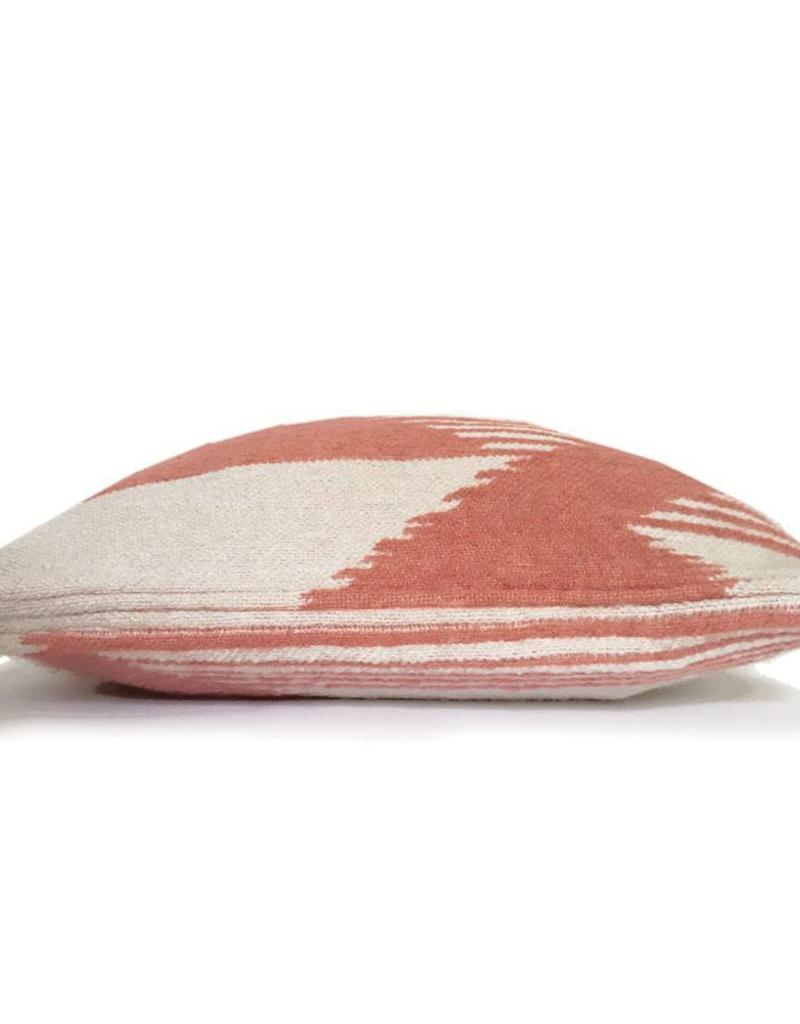 Nomad mahogany pink cushion