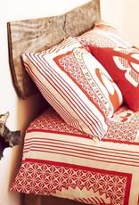 Tucan red duvet cover