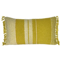 Berber mustard cushion