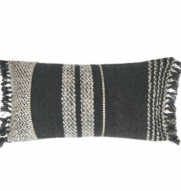 Berber stone grey cushion