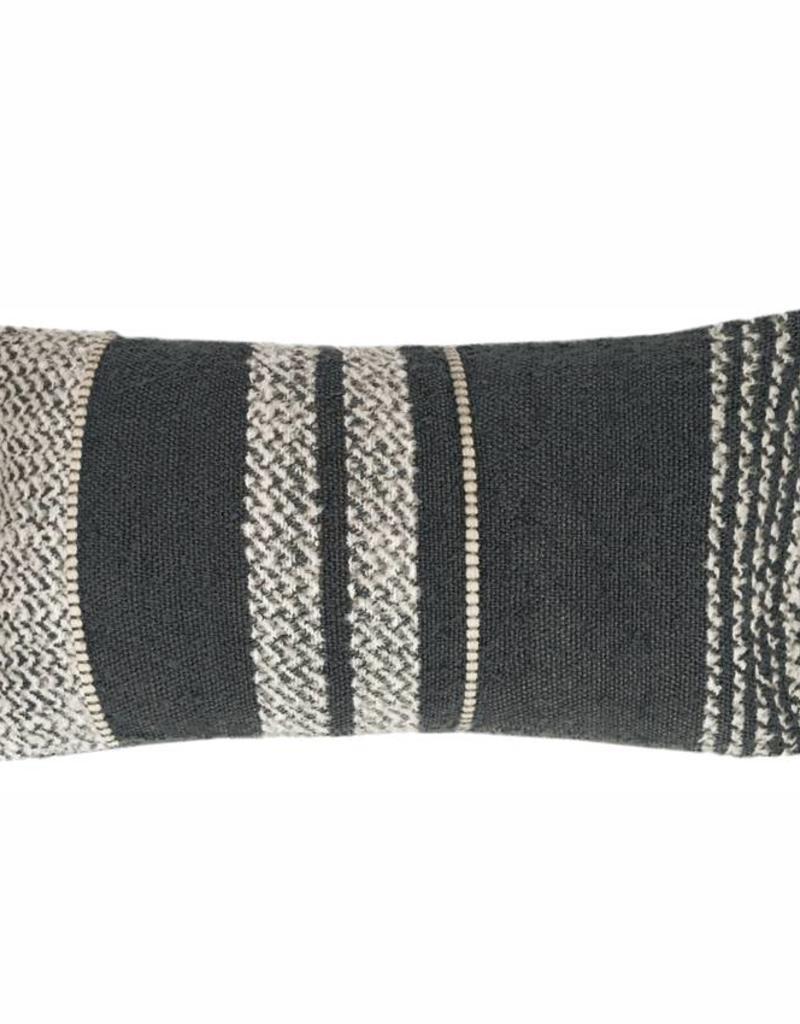 Berber stone grey cushion