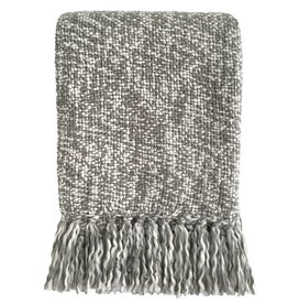 Marble grey throw