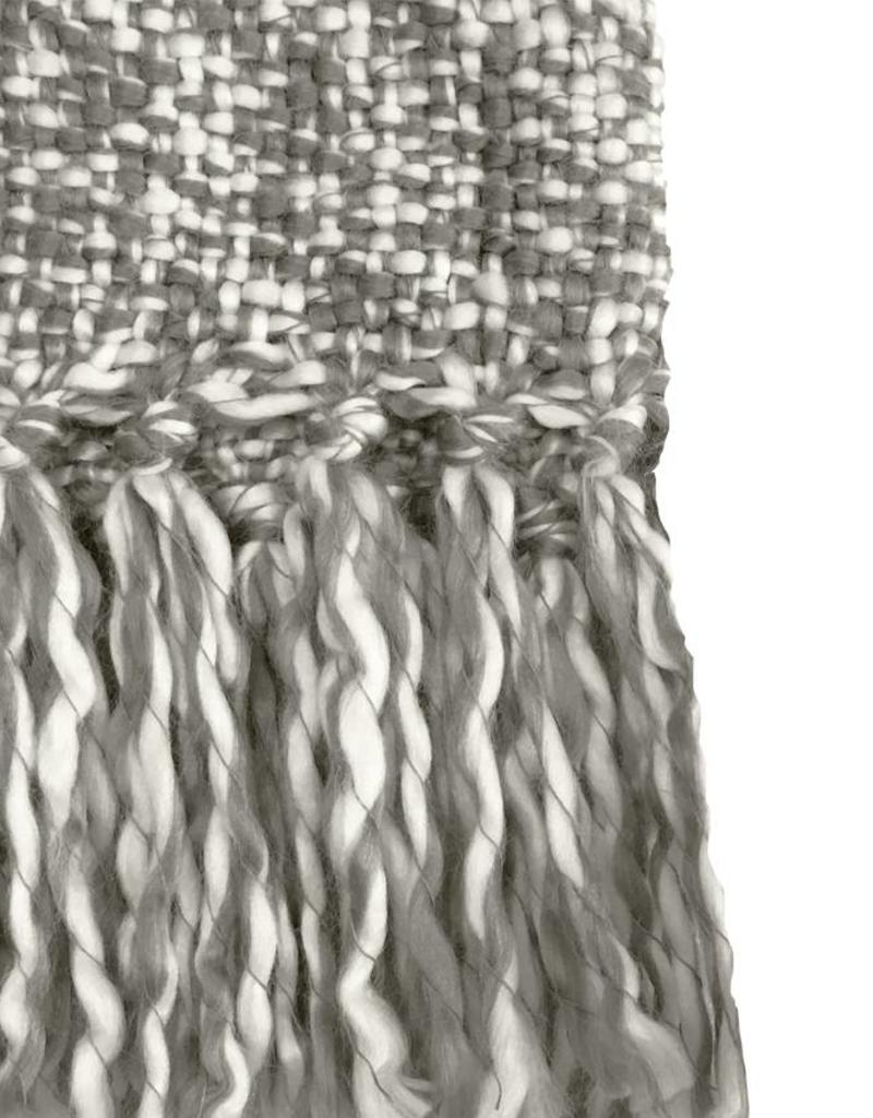 Marmer grijs plaid