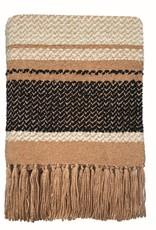 Navajo beige throw (NEW)